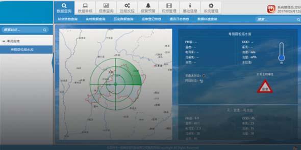 地表水跨界考核及流域总量竞博jbo首页和饮用水水源地水质自动站监测系统